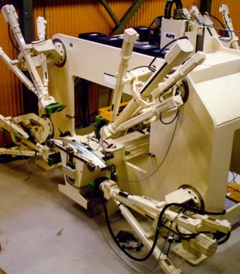 Bumper machining Hydro