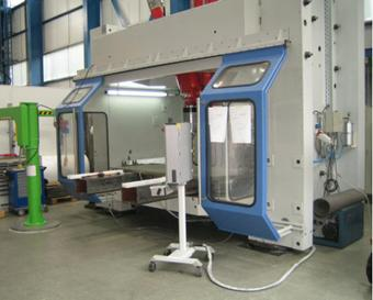 Riftec dual machine based on tricept T9000